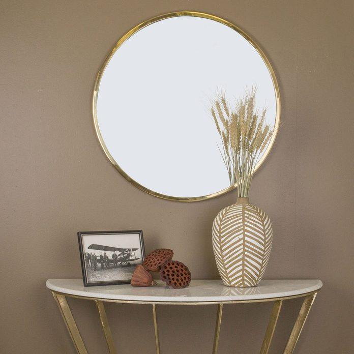 brassaccents_02 home design decor entryway circular mirror