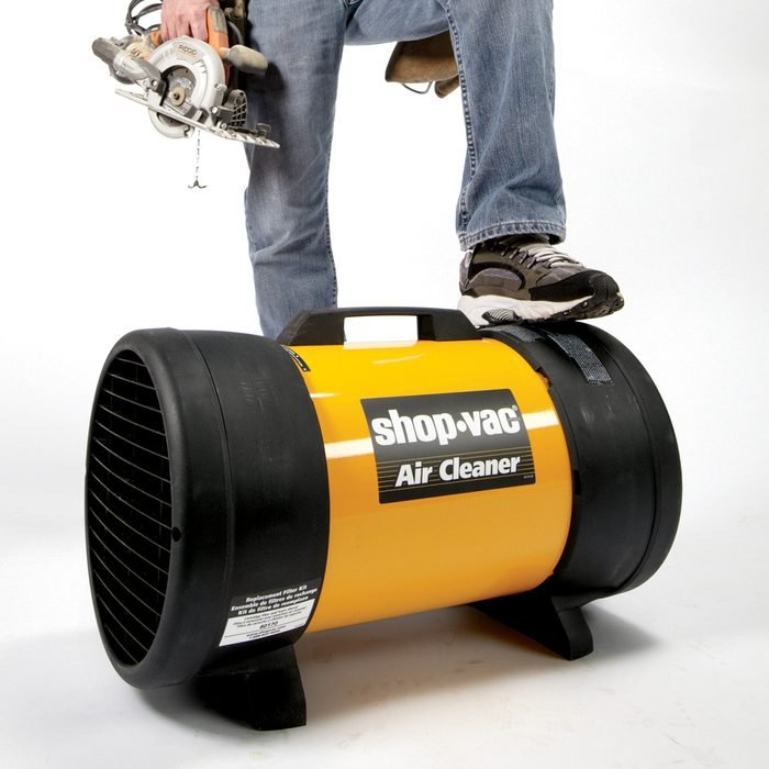 A shop-vac that doubles as an air cleaner   Construction Pro Tips