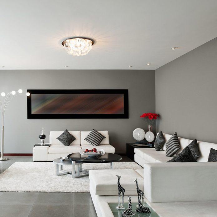 crisp-gray living room wall color _133777247