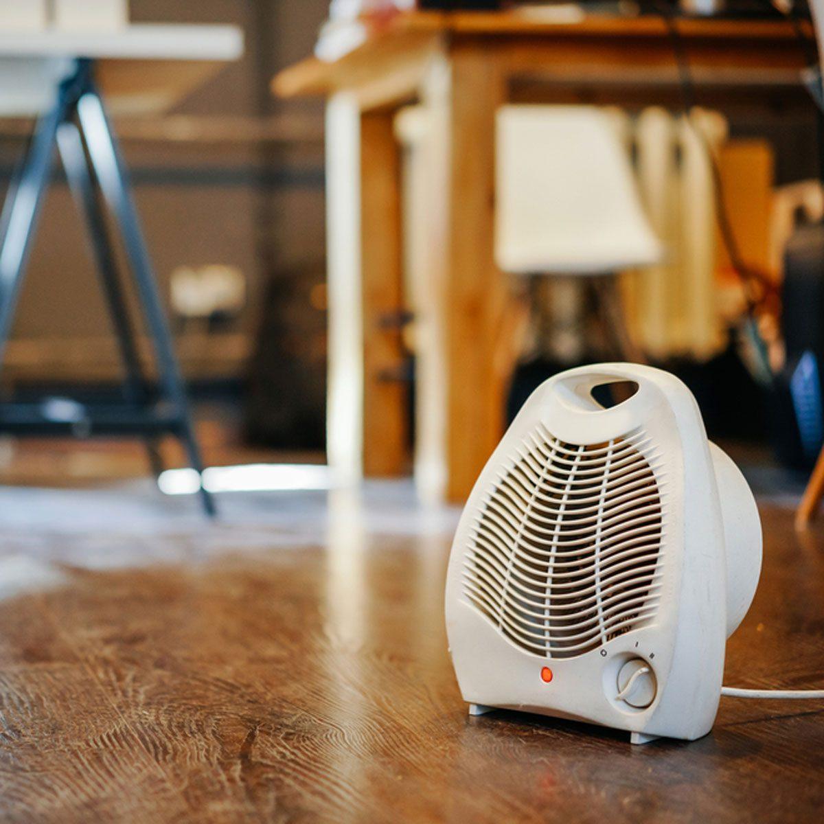 dfh22shutterstock_724455943 fan space heater combo
