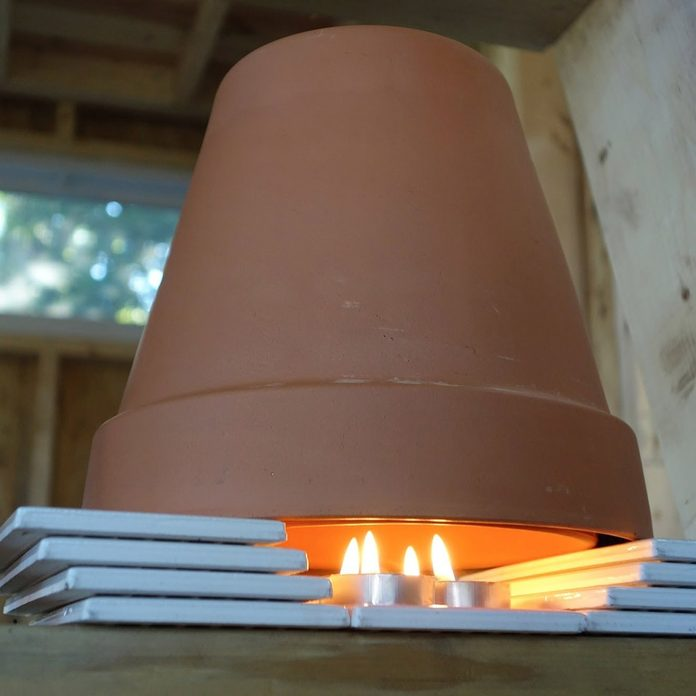 Build a Candle Heater