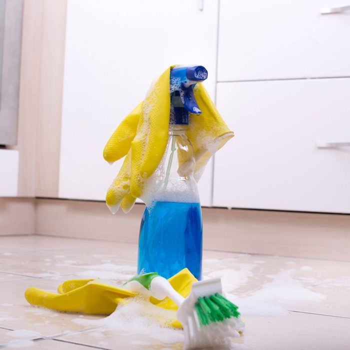 Disinfect Remaining Materials