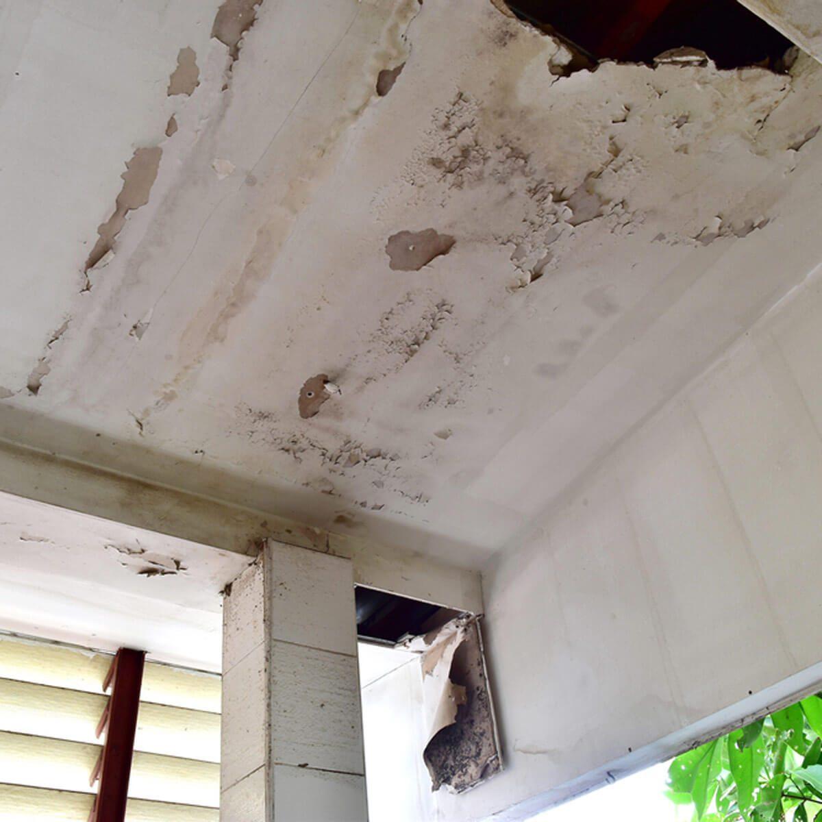Focus on Ceilings Water Damage Repair First