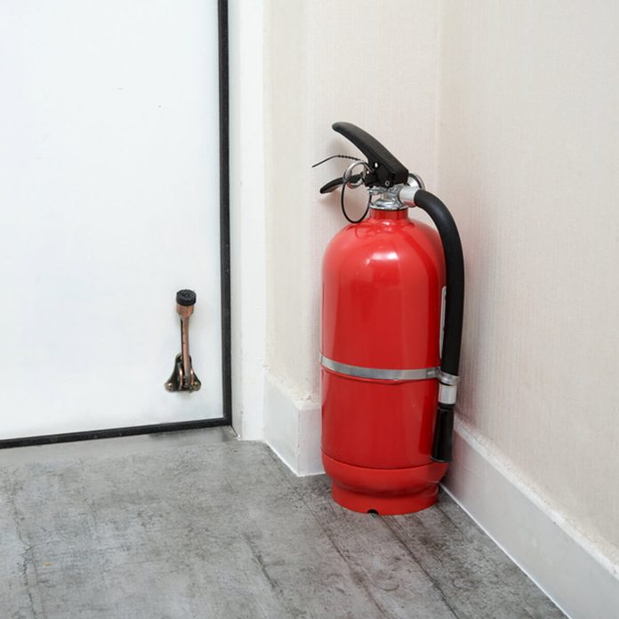 Have the Fire Extinguisher Ready