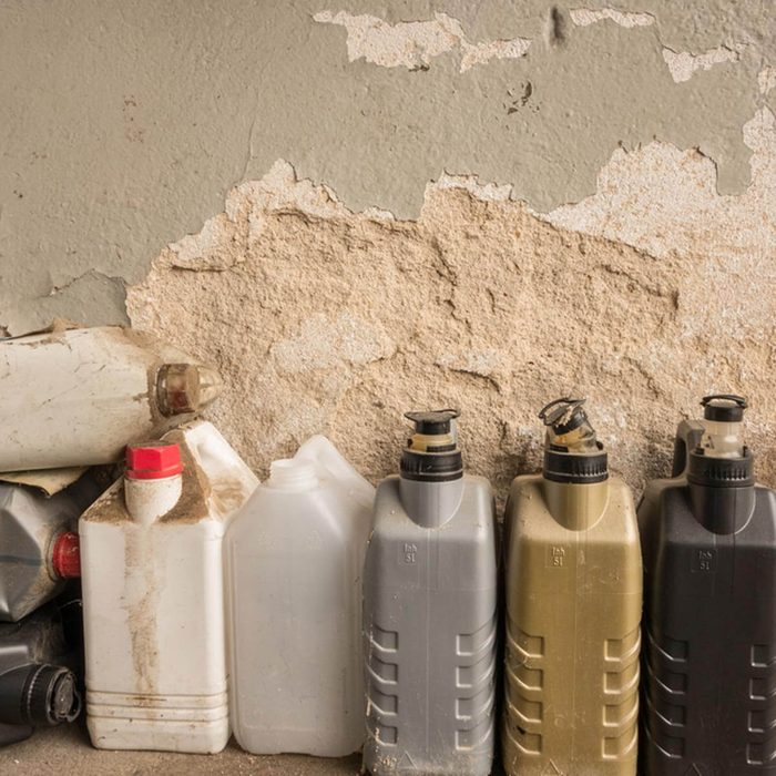Take Fire Safety Precautions in the Garage/Utility Room