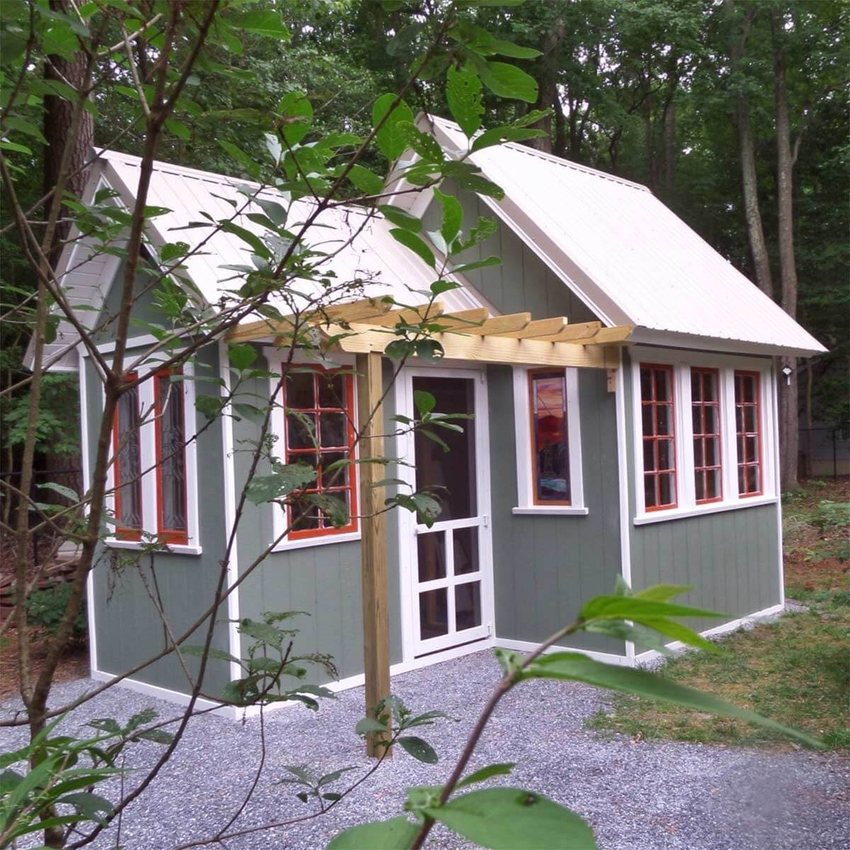 Grand Garden Shed