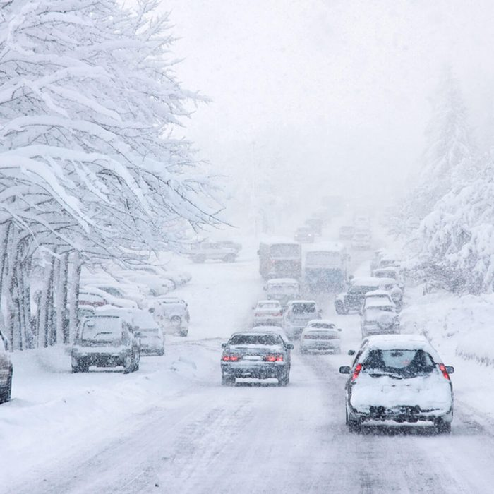 Winter Driving Tips: Go Slow and Leave Space