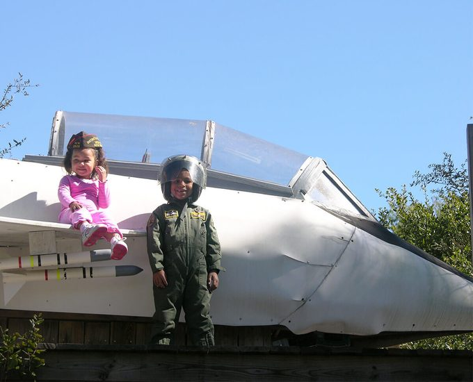 adorable jet pilot by f-14 play set