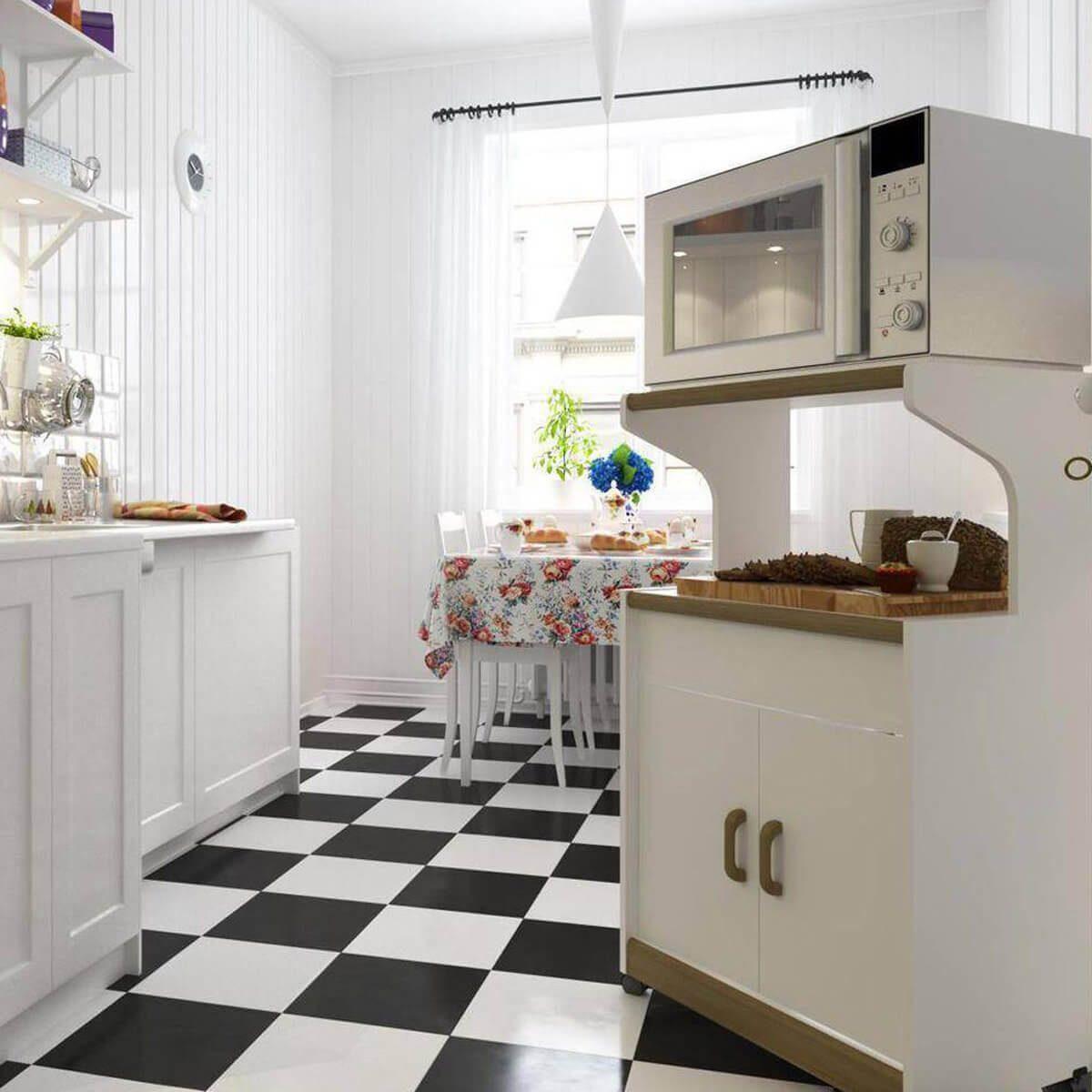 kitchen-microwave-stand