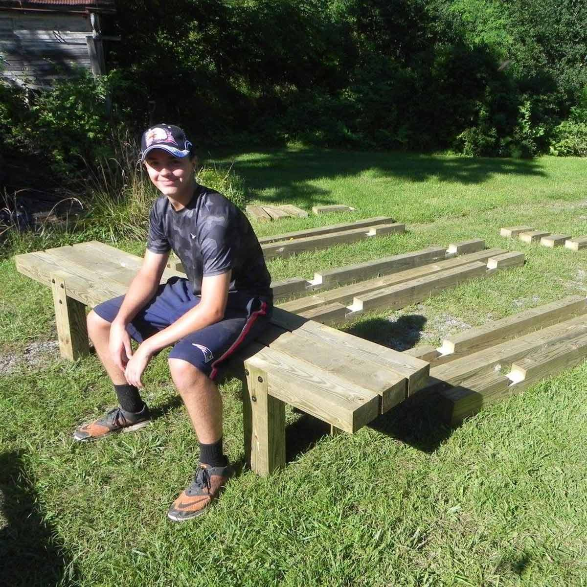 eagle scout bench project