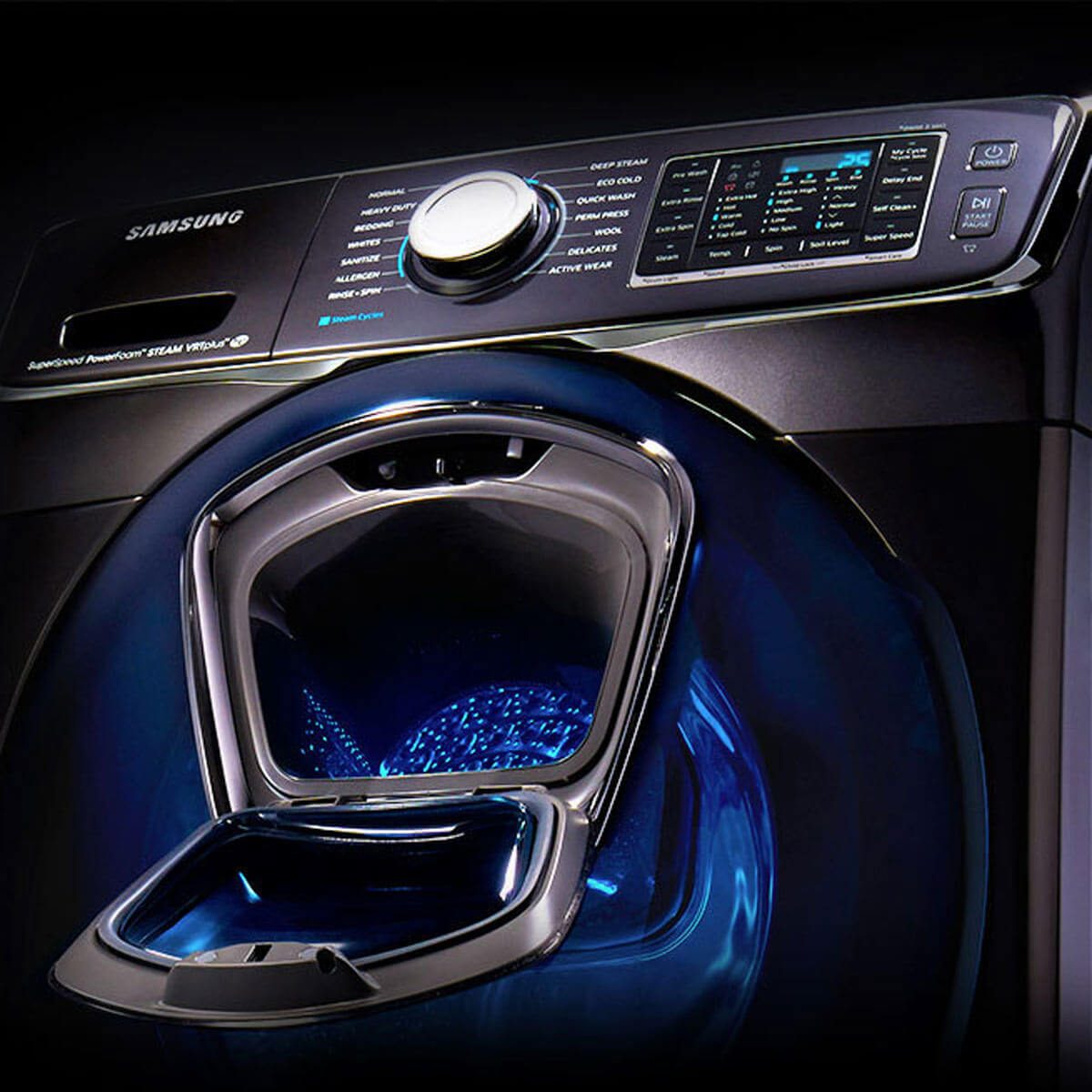 samsung washer laundry