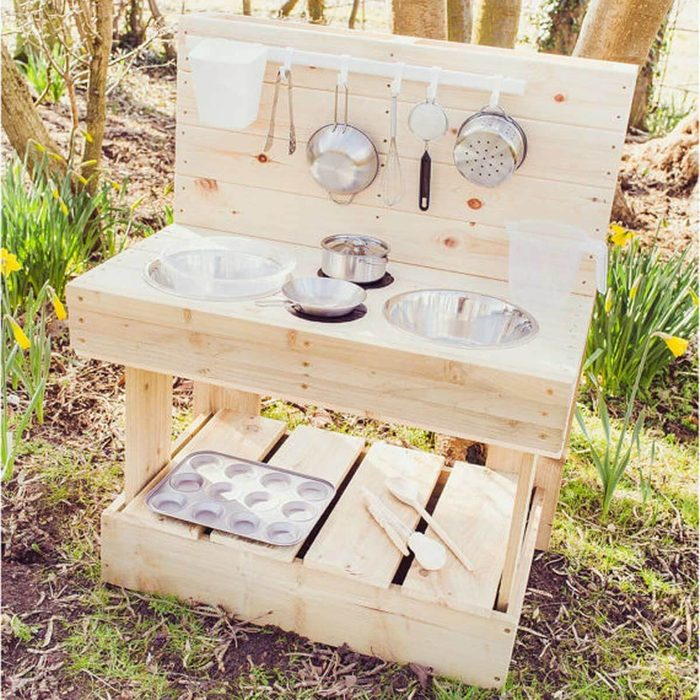A Mud Kitchen