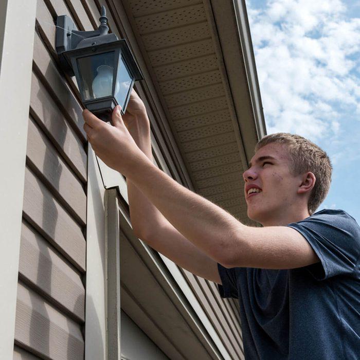 Inspect Outdoor Lighting