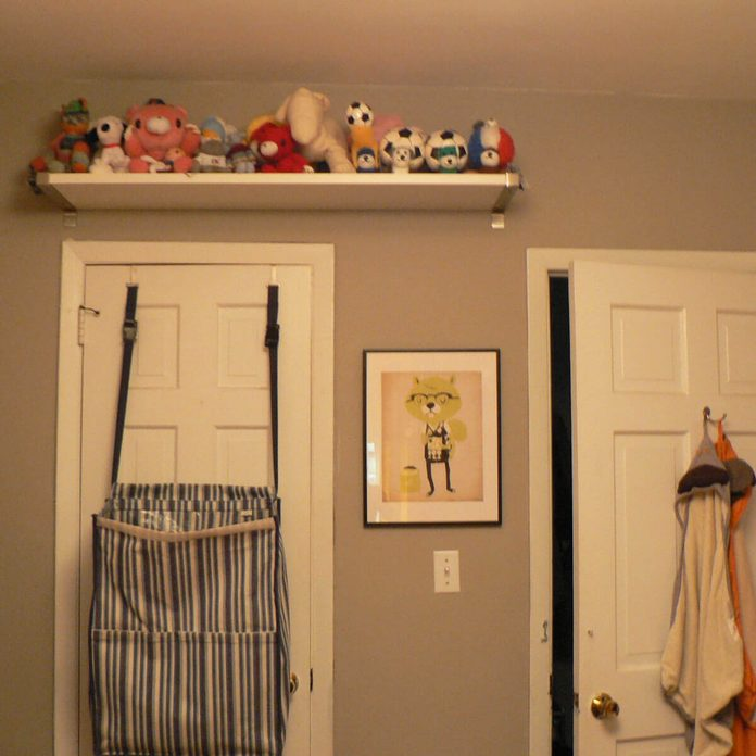 Hang a Shelf Above the Door