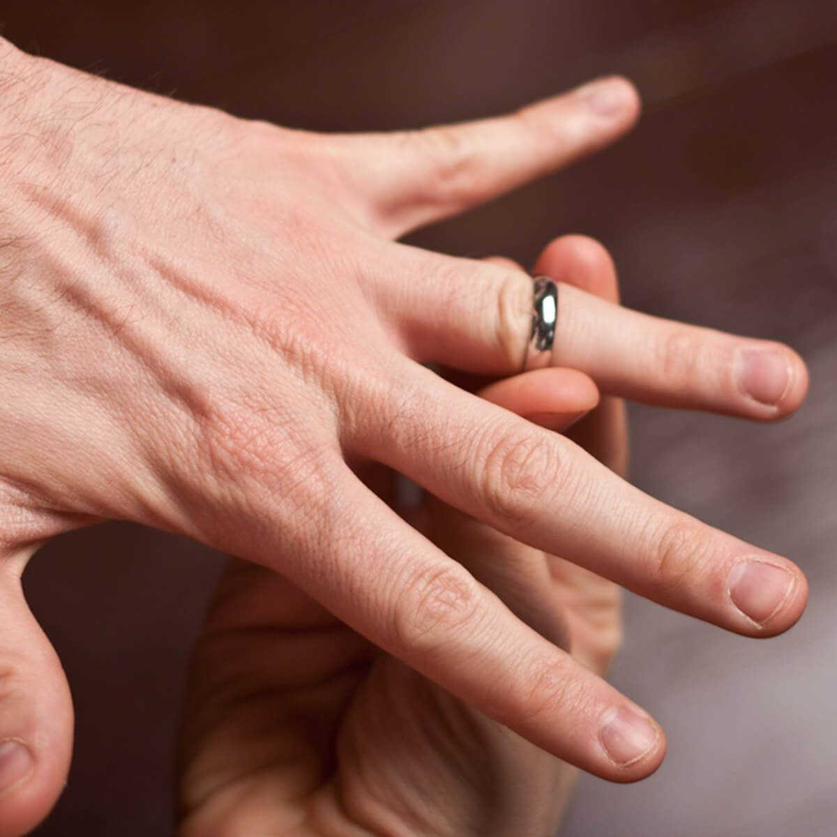 Wedding ring jewelry removal WD-40