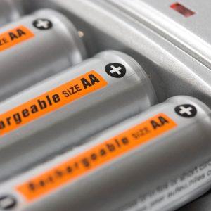 shutterstock_99673421 rechargeable batteries