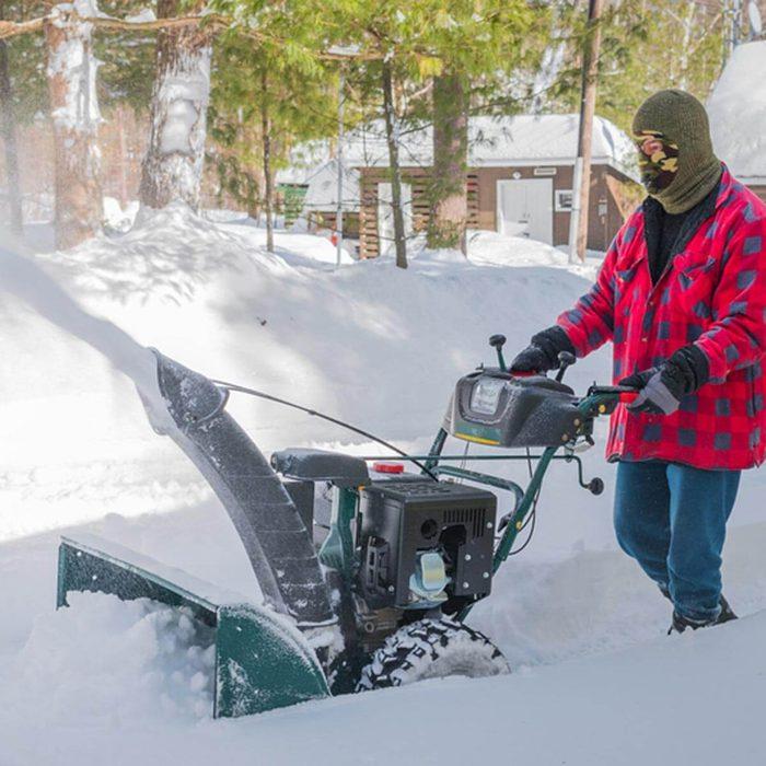 Ready Shovels, Check Snow Blower