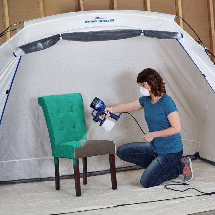 Large Spray Shelter
