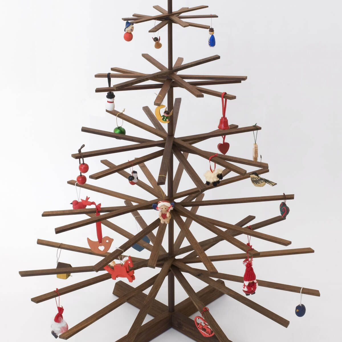 stick craft project christmas tree