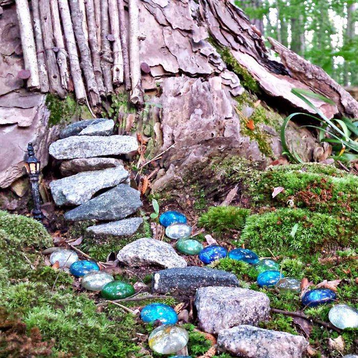 Fairy Garden in the Woods