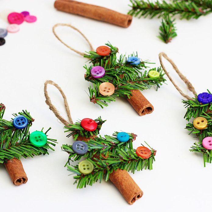 Cinnamon Stick Tree Ornaments