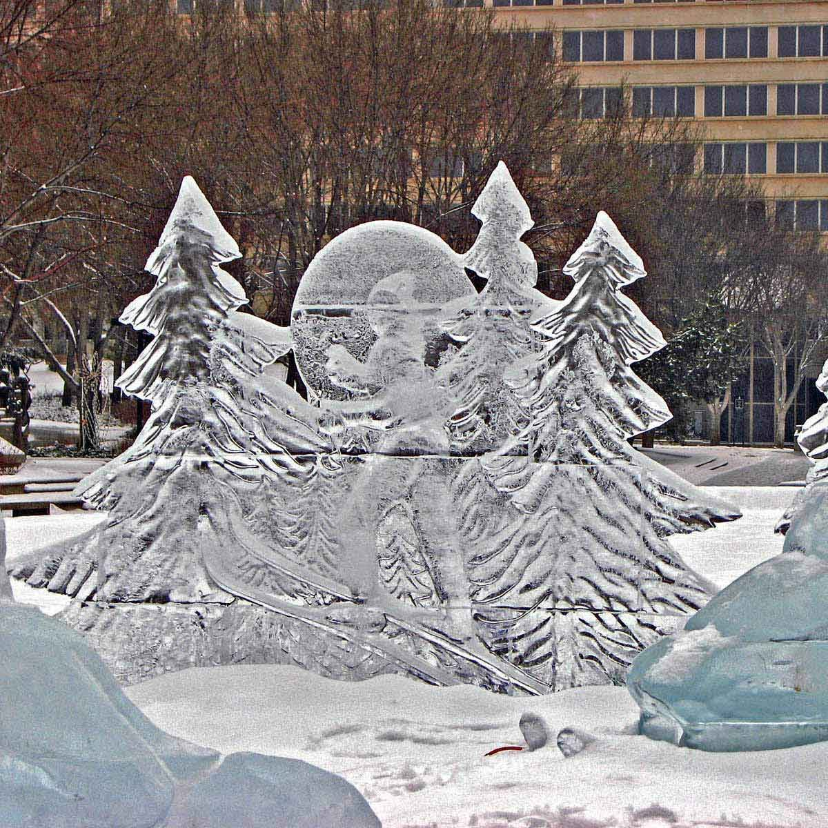 Alberta Legislature Sculptures