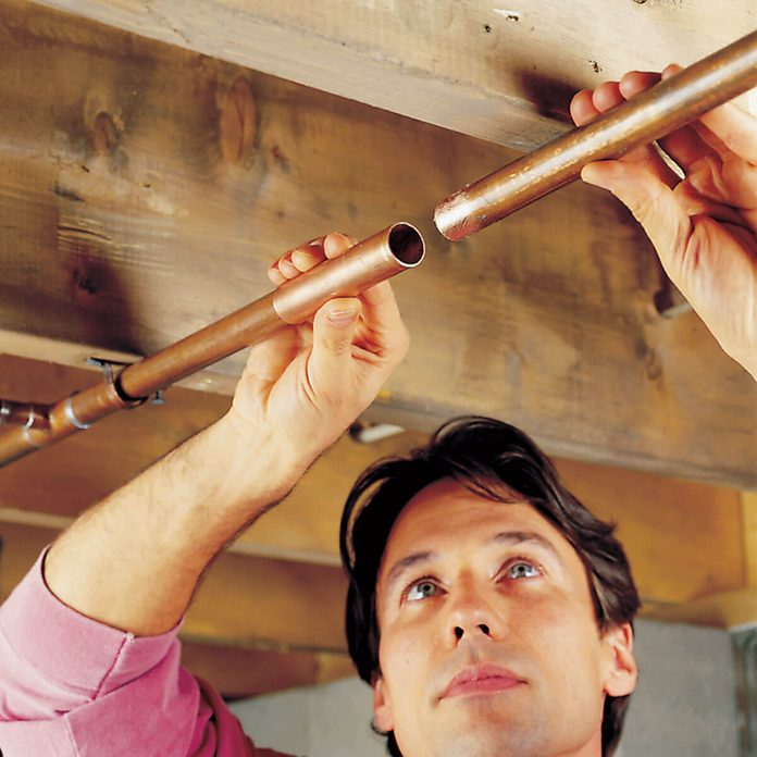 Fixing a leaky pipe
