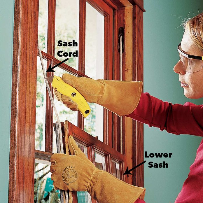 remove the lower sash diy window inserts replacing windows in old house