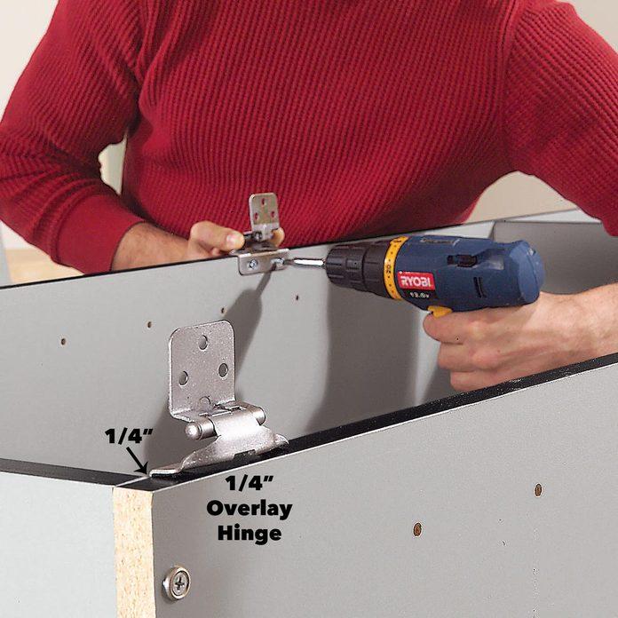 hinges garage cabinet doors