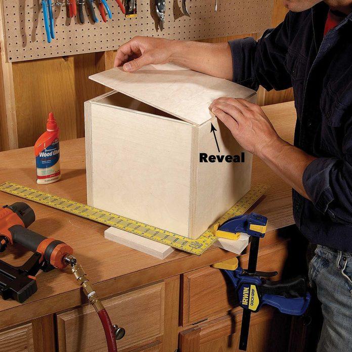 Attach the back modular box