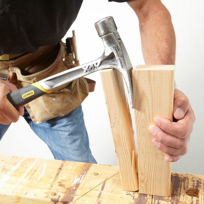 Hammer wood splitter