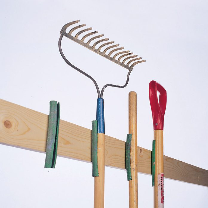 FH98MAR_01268002 garage organizer tools rake