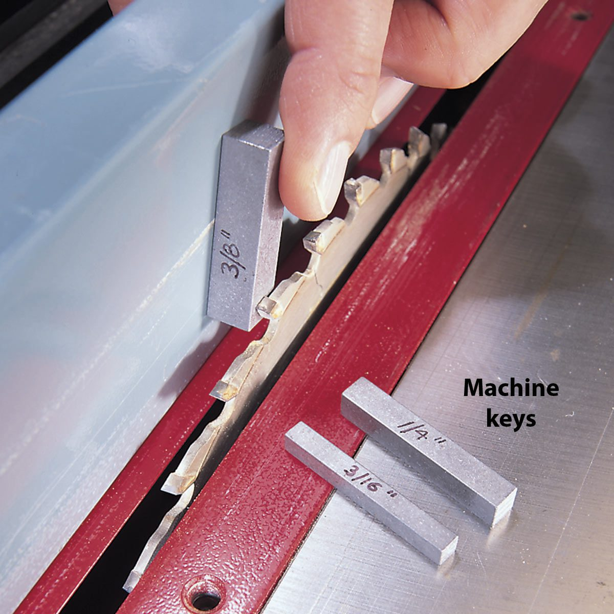 table saw key