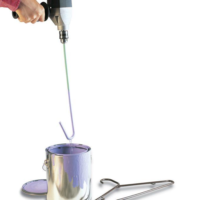 hanger hack paint mixer