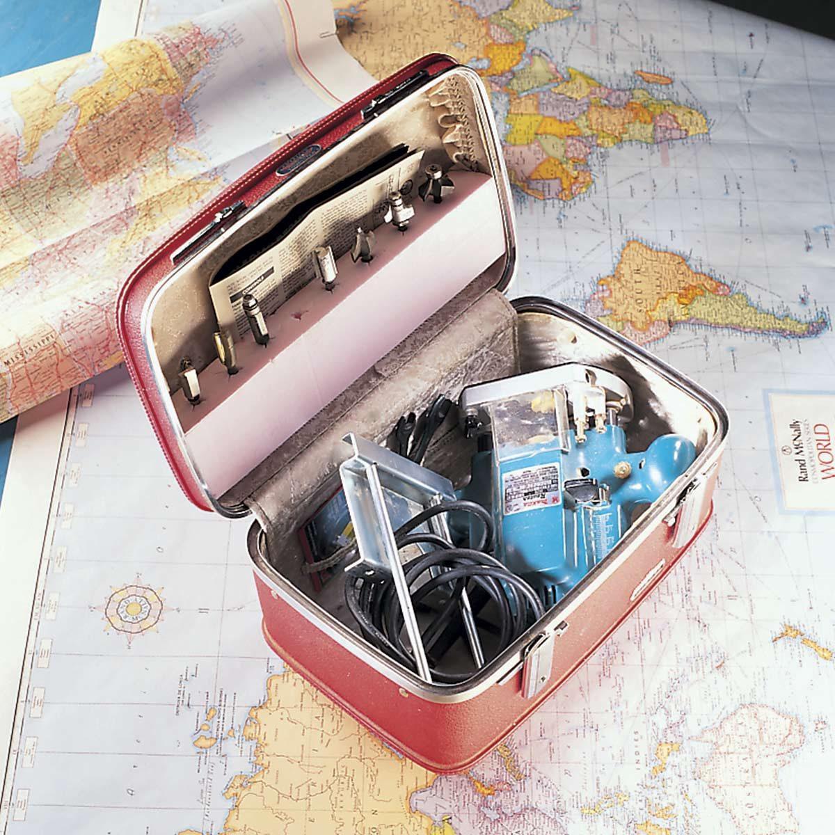 suitcase router box