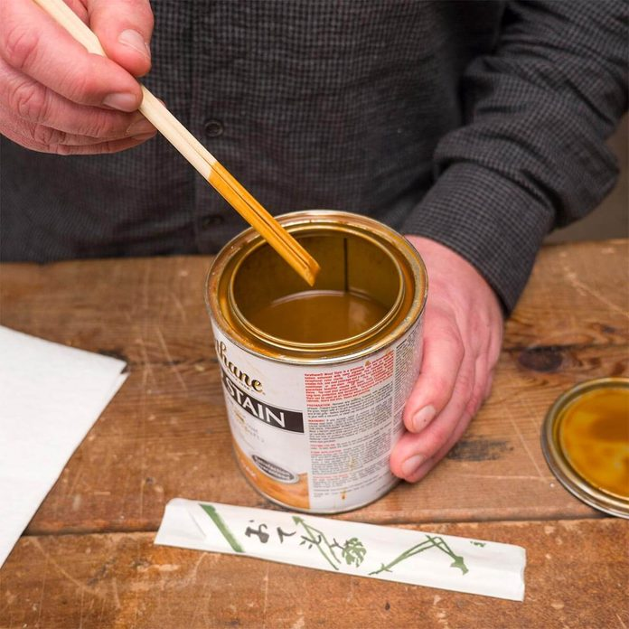 chopsticks stirrers for stain