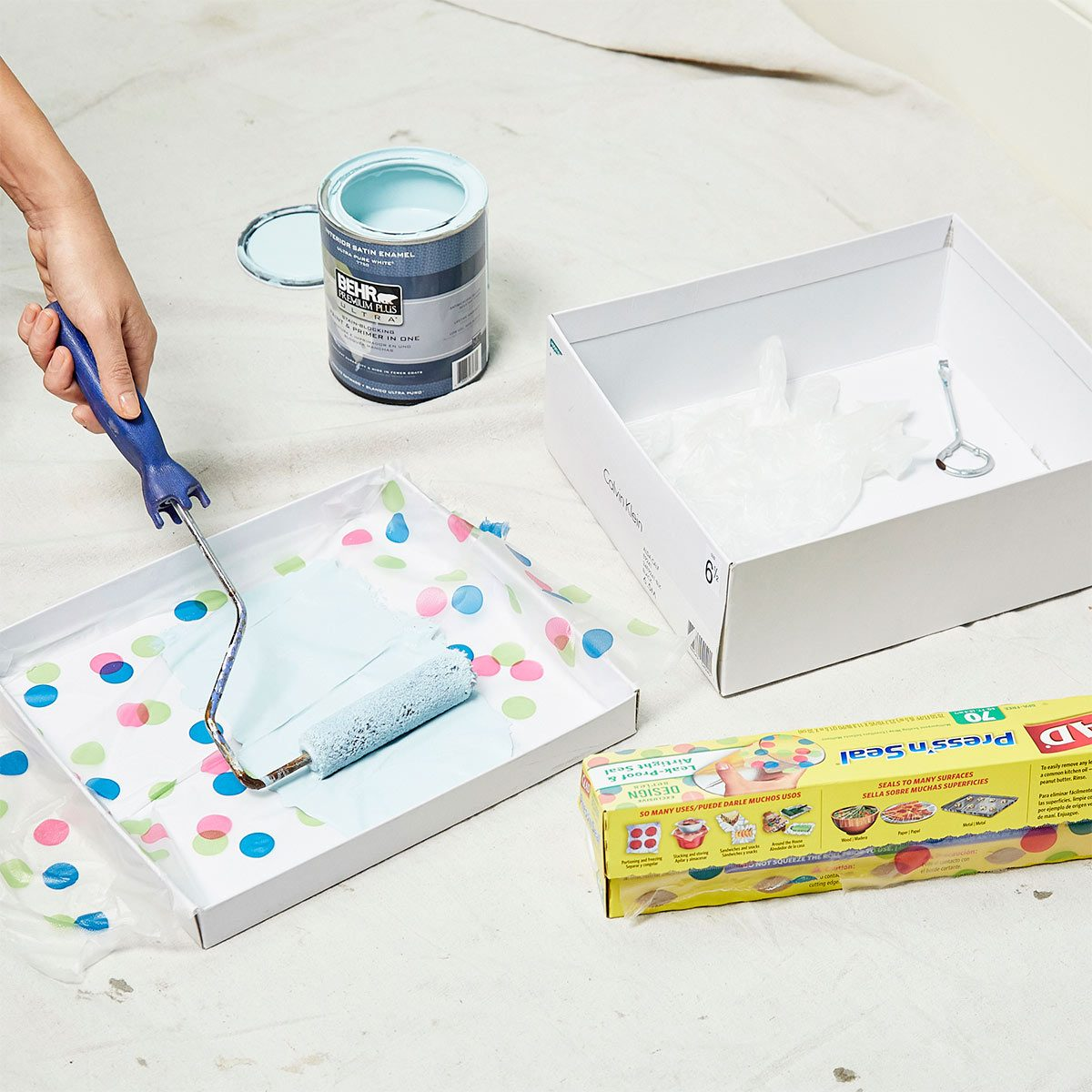 shoe box paint kit