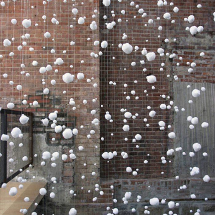 Cotton Ball Christmas