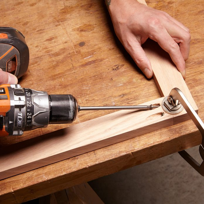 Assemble the face frame with pocket hole screws | Construction Pro Tips