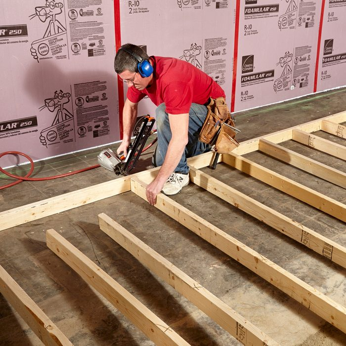 Assemble walls on the floor | Construction Pro Tips