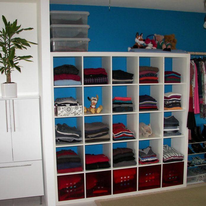 bookshelf closet organization storage
