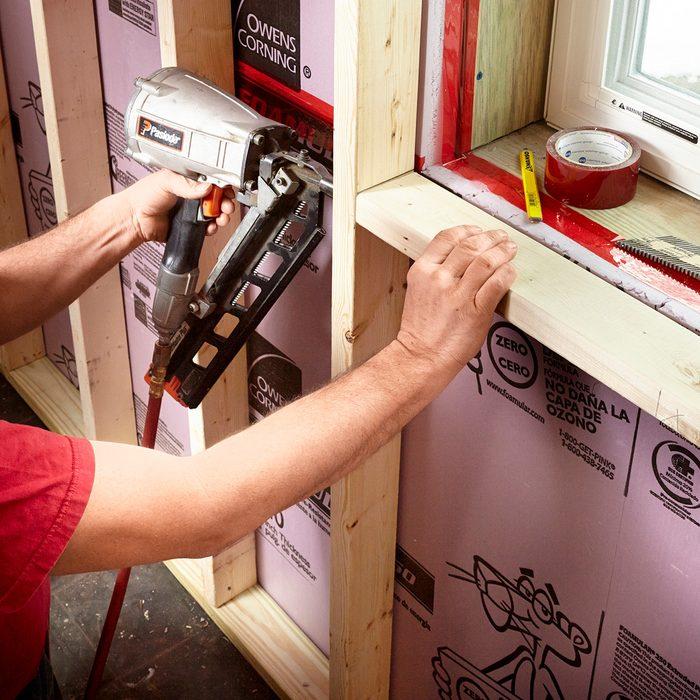 Build out around windows