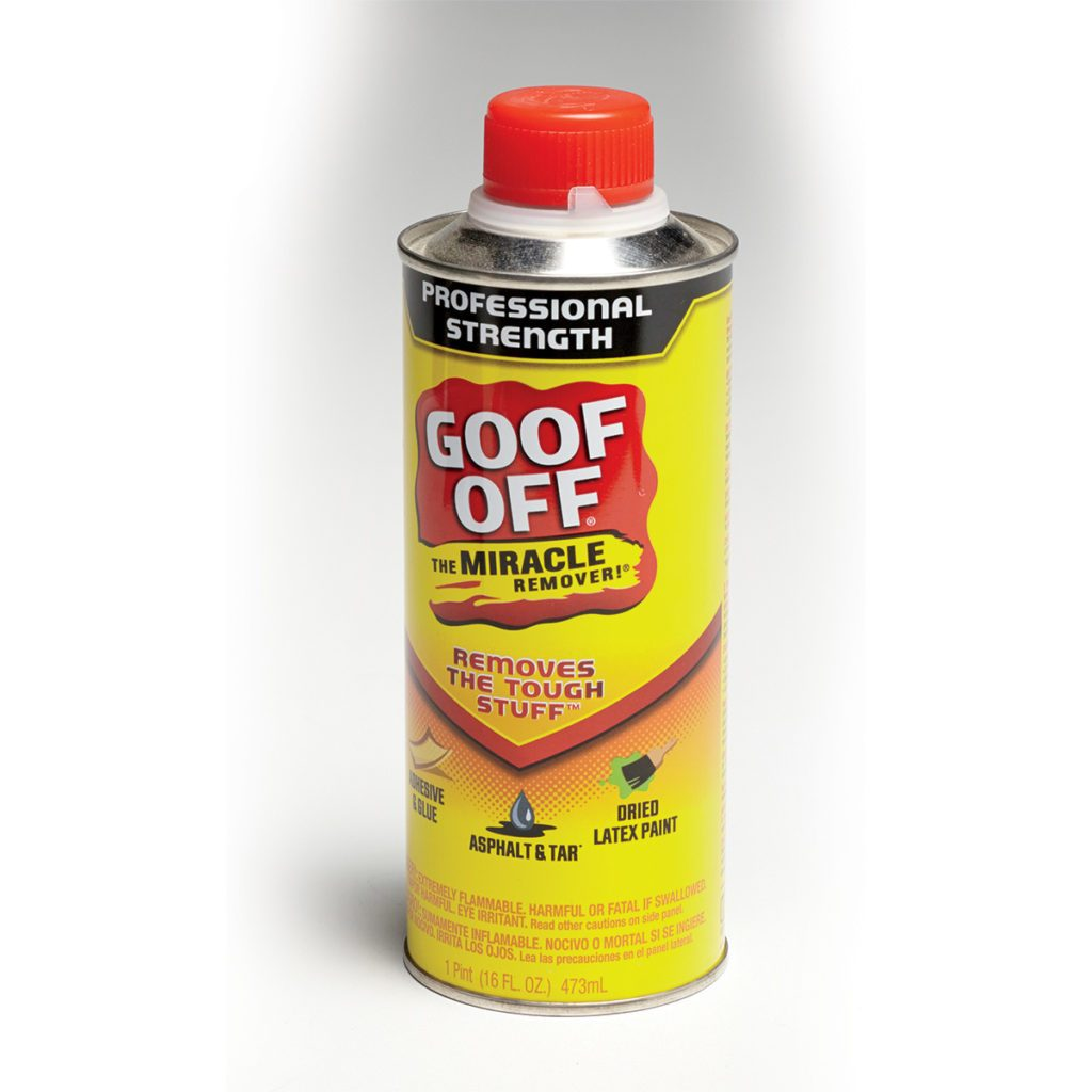 Clean your mistakes with Goof Off | Construction Pro Tips