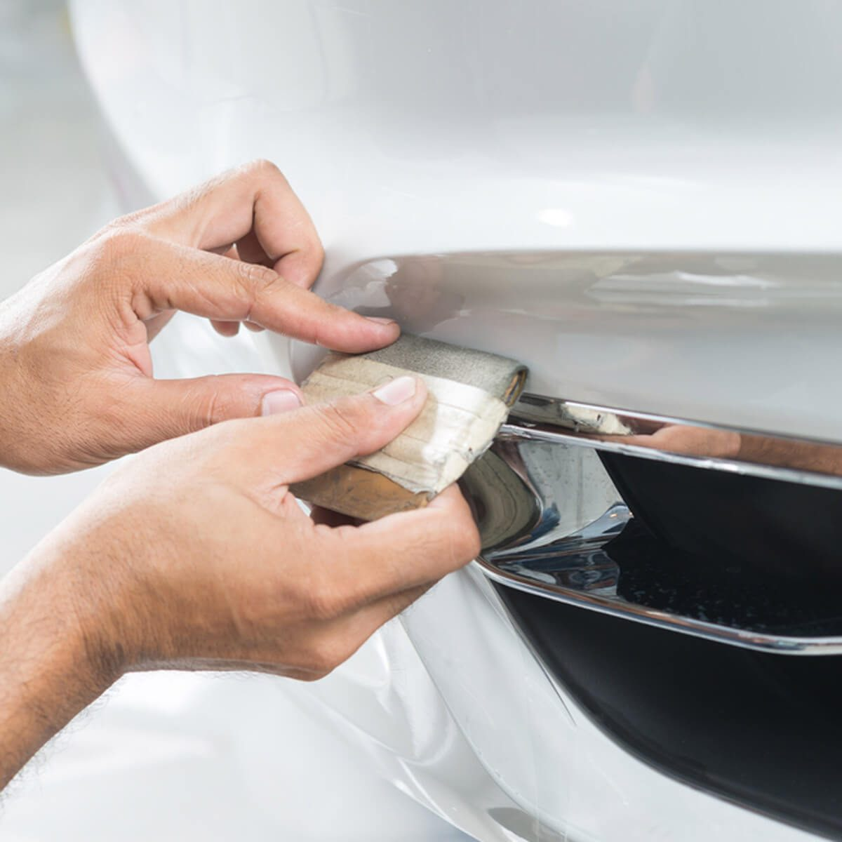 car body repair dfh12_shutterstock_421900741 Paint Film for Long-Term Protection car