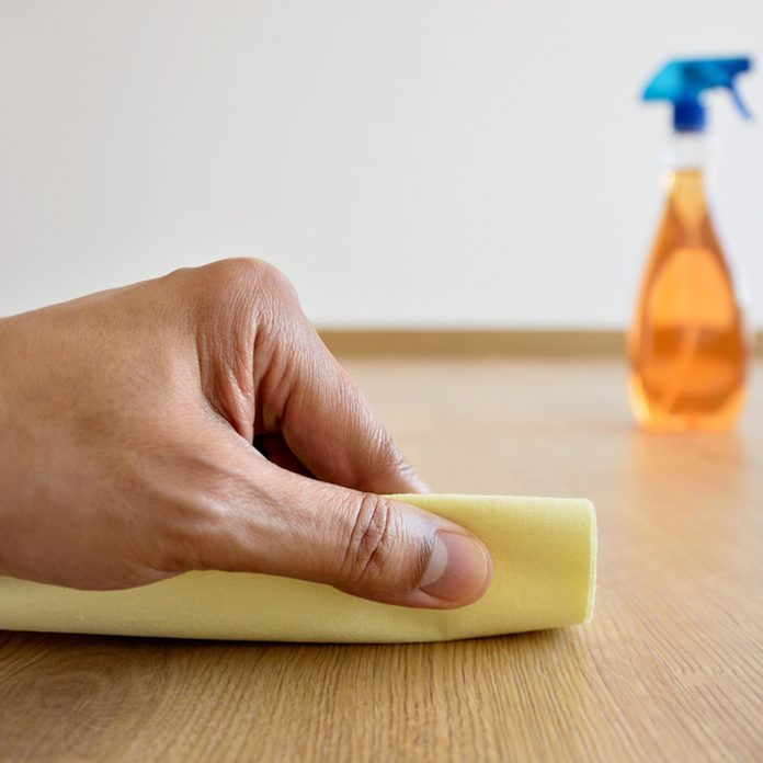 dfh3_shutterstock_757525645 wood floor scratch repair cleaning
