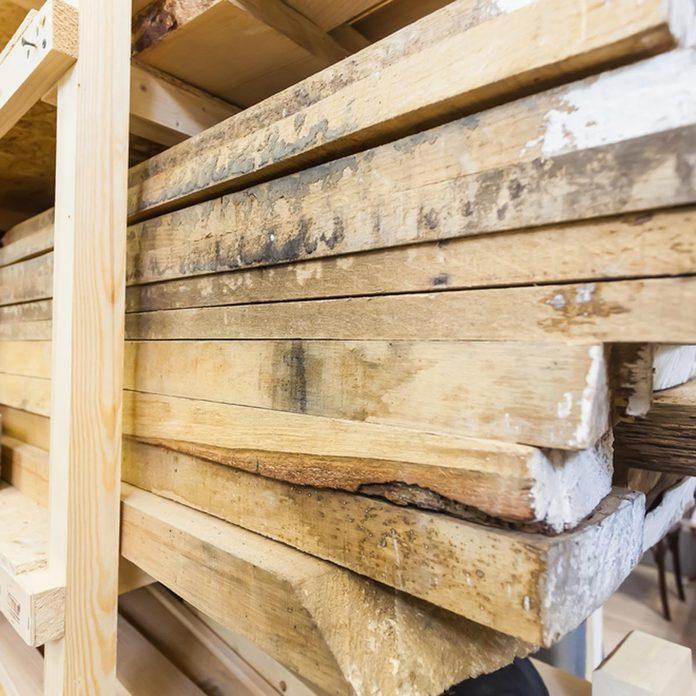 dfh9_shutterstock_691494142 lumber wood rack storage