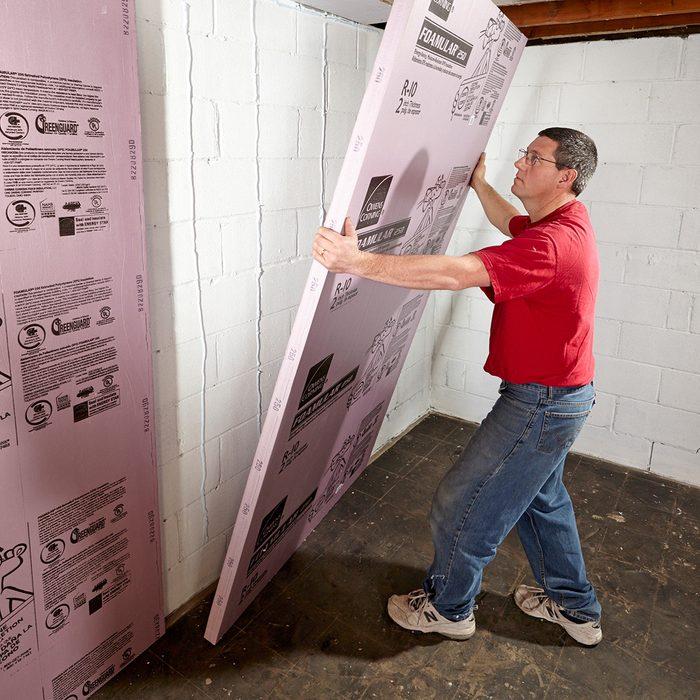 Instal foam board | Construction Pro Tips