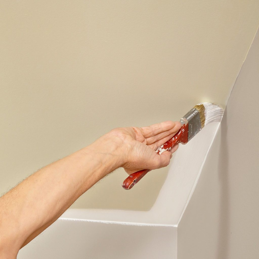Lapping your cut-in onto the walls | Construction Pro Tips