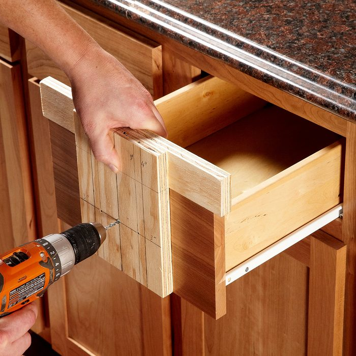 Make a simple drawer template