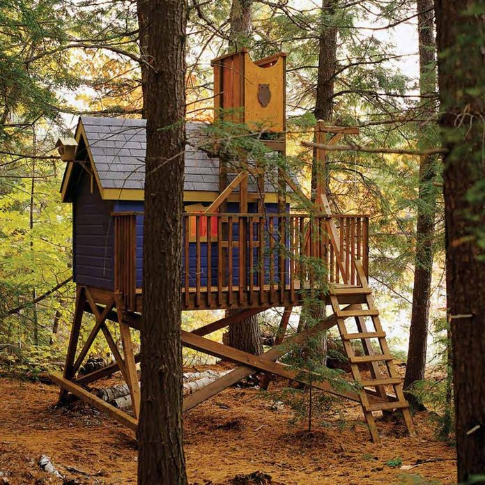 notreetreehouse diy playset